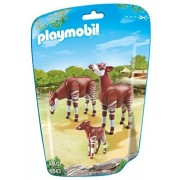 PLAYMOBIL 6643 - 2 Okapis mit Baby by PLAYMOBIL