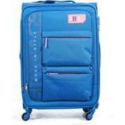 Skybags Vanguard 4W expandable Trolley 71 cm (Sky Blue) Expandable Check-in Luggage - 27 inch(Blue)