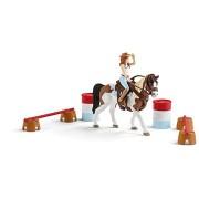 Schleich 42441 Hannah és vadnyugati lovaglókészlet