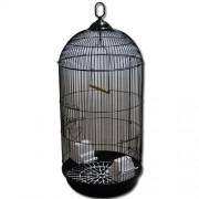 Max 404 Klec černá pro ptáky na papoušky 330 x 690 mm