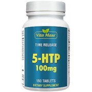vitanatural 5-htp 100 mg tr time release - 150 tabletter