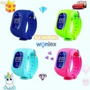 WONLEX® Inteligentné hodinky Q50 OLED s telefónom a GPS pre deti