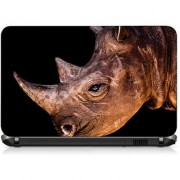 VI Collections ANIMAL ANGRY LOOK pvc Laptop Decal 15.6