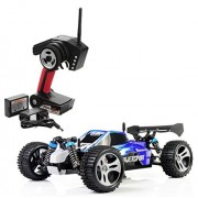 RC Car-Erencook High Speed 32MPH Fast Race Cars 1/18 Scale Radio Controlled Electric Car Offroad 2.4Ghz 4WD Remote Control Truck,Blue