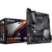 Placa de baza Gigabyte Z490 AORUS ELITE AC , Socket 1200 , DDR4 , Sloturi 4 , ATX , Chipset Z490