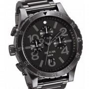 Reloj Nixon A486632 Chrono 48-20 200 Dark Copper-Negro