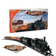 Start set trenulet electric Western Train cu Diorama