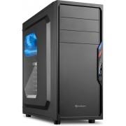 Sharkoon VS4-W Midi-Toren Zwart computerbehuizing
