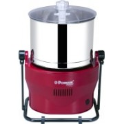 Ponmani Power Plus Wet Grinder(Red)