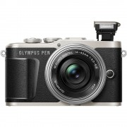 Olympus PEN E-PL9 Body with 14-42mm EZ Lens Mirroless Digital Cameras - Black