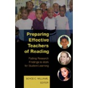 Preparing Effective Teachers of Reading. Putting Research Findings to Work for Student Learning, Paperback/***