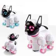 Electric Pets Singing Dancing Robot Dogs With Music For Kids Children Funny Games Playing Toys Gift