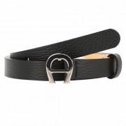 Aigner Cybill Cinturón piel Black 100cm