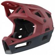 iXS Trigger FF Helmet Casco per bici (M/L, nero/rosso)