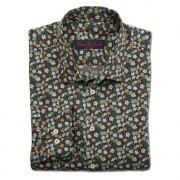 Liberty™ Tana-Lawn-overhemd, 41 cm - donkerbruin/roze/oranje/lichtblauw/groen/beige
