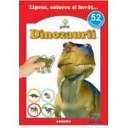 Lipesc colorez si invat... Dinozaurii