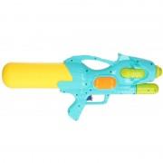 Geen Waterpistool met pomp blauw/geel 47 cm - Action products