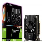 VGA EVGA GTX 1660 XC Black GAMING, nVidia GeForce GTX 1660, 6GB, do 1785MHz, 36mj (06G-P4-1161-KR)