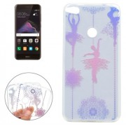 For Huawei P8 Lite (2017) Ballet Girl Pattern Soft TPU Protective Case