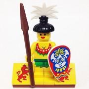 "Minifigure Packs: Lego Pirates Bundle ""(1) Female Islander"" ""(1) Figure Display Base"" ""(2) Figure Accessories"""