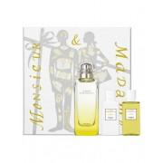 Hermes Le Jardin De Monsieur Li 100ml Apă De Toaletă + 40ml Loțiune de corp + 40ml Gel de duș Set