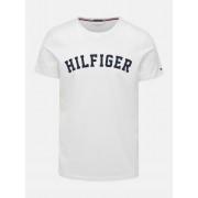 Tommy Hilfiger Maglietta bianca da uomo Tommy Hilfiger SS Tee Logo - XL