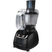 Black & Decker 8-Cup Food Processor with Stainless Steel Blade Black FP1600B 500 W Food Processor(Black)