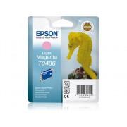 Epson Cartucho de tinta original EPSON, T0486, Caballito de mar 13 ml , Magenta claro, C13T04864010