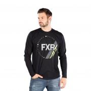 FXR Unterziehshirt FXR Vapour 20% Merino Schwarz-HiVis