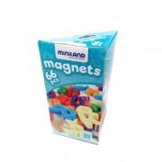 Set 66 litere mici magnetice Miniland