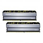 DDR4, KIT 16GB, 2x8GB, 3200MHz, G.SKILL Sniper X, CL16 (F4-3200C16D-16GSXKB)