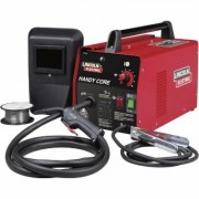 Lincoln Electric Handy Core Flux-Cored Welder with Face Shield - Transformer, 115V, 35-88 Amp Output, Model K2278-1