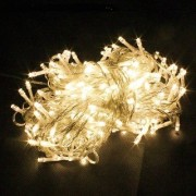 Diwali Decorative Yellow 5 Meter (5no/12.5) LED String Lights Serial Bulbs