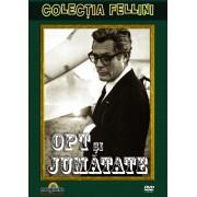 8 1/2:Marcello Mastroianni,Claudia Cardinale,Frederico Fellini - 8 si jumatate (DVD)