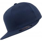Flexfit Flat Visor Cap blau