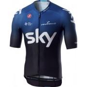 Castelli Team Sky 2019 Aero Race 6.0 - maglia bici - uomo - Black/Blue
