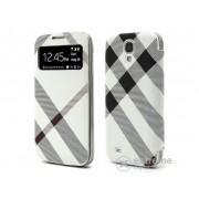 Husa din piele Gigapack pentru Samsung Galaxy S4 (GT-I9500), alb