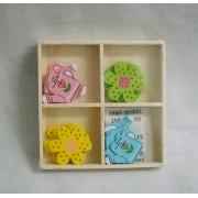 Fa öntapadós locsolókanna virág dobozban//Cikksz:160014