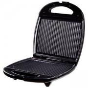 Сандвич тостер SAPIR SP 1442 AM, 1200 W, за 4 филийки, Незалепващи плочи, Черен