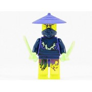 LEGO Ninjago Cowler Ghost Ninja Warrior Minifigure with Swords