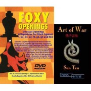 Foxy Chess Openings: A Repertoire for Black Against Unusual Openings DVD & ChessCentral's 'Art of War' E-Book (2 Item Bundle)