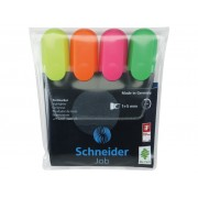 SET 4 TEXTMARKER SCHNEIDER JOB, varf tesit 1-5 mm