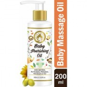 Mom World Baby Nourishing Oil For Baby Massage - 200ml (With 100 Pure Oils)