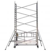 Lockhard Fahrgerüst Alulift M 1 Meter elektrisch höhenverstellbar