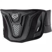FOX Ceinture De Protection Lombaire Fox Blackbelt Noir Gris