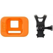 Accesorii GoPro Bite Mount + Floaty ASLSM-001, pentru HERO Session (Negru/Portocaliu)