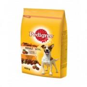 PEDIGREE hrana za pse, briketi, mini, piletina povrce 400g 520048