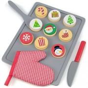 Boy Toy Playset, 22pcs Cookies For Santa Christmas Baking Kids Toys Playsets
