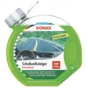 Sonax GmbH SONAX ScheibenReiniger Konzentrat Green Lemon, Reinigungskonzentrat für die Scheibenwaschanlage ohne Schlieren, 3 Liter - Rundflasche