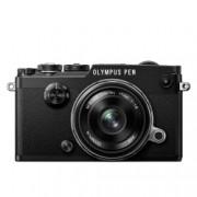 Olympus PEN-F Aparat Foto Mirrorless 20MP MFT Full HD Kit cu Obiectiv 17mm F1.8 Negru